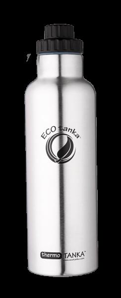 ECOTanka 1 Liter Thermotanka in Edelstahl mit Reduzierverschluss