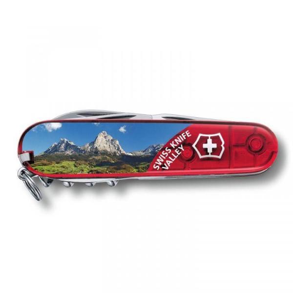 Victorinox Climber rot trans, Swiss Valley 1.3703.TE9