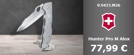 Victorinox Hunter Pro Alox silber 0.9415.M26