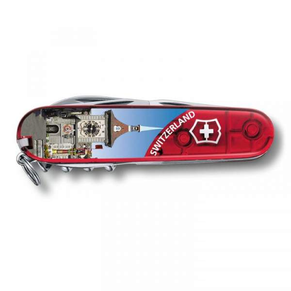 Victorinox Climber rot trans, BERN 1.3703.TE6