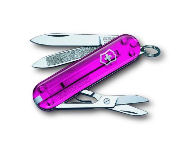 Victorinox Classic (rosa transparent) 0.6203.T5